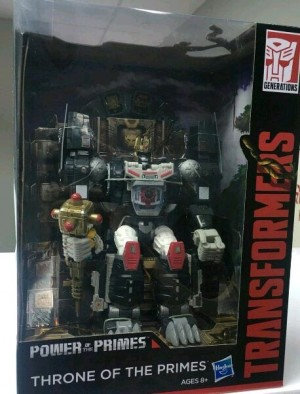 Transformers Power of the Primes Throne of the Primes Optimal Optimus Revealed