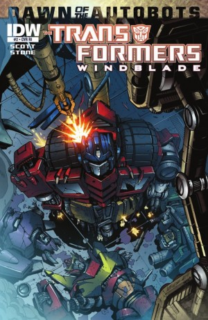 IDW Transformers: Windblade #2 Review