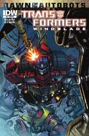 Transformers News: IDW Transformers: Windblade #2 Review