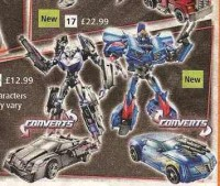 Transformers News: Argos Scan Reveals New Transformers Prime Images: New Deluxe Vehicon, Driller Playset, Voyager Megatron, Blue Deluxe Bumblebee Repaint