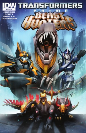 Transformers News: IDW Transformers Prime: Beast Hunters #8 Preview