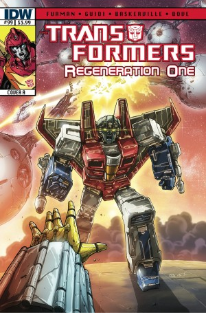 Transformers News: IDW Transformers: ReGeneration One #99 Script (W)Rap