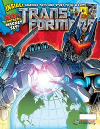 Titan Transformers Issue 2.15 Three Page Preview