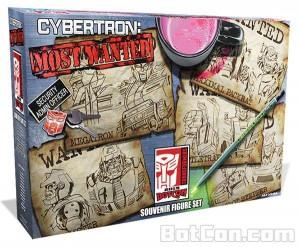 BotCon 2015 Cybertron's Most Wanted Box Art revealed