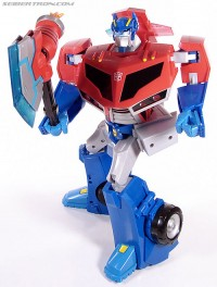 Transformers News: New TF Animated Supreme Roll Out Command Optimus Prime Gallery