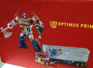 Transformers News: First Look at Year of the Horse MP Optimus Prime