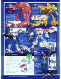 Transformers News: Takara Transformers Prime Arms Micron Cliffjumper, Ratchet, Megatron, and Skywarp Revealed Plus other Details