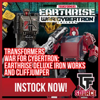 TFSource News - Transformers ReAction, DX9 Capone, Civil Warrior Grant, Flame Toys & More!