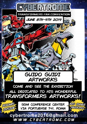 Transformers News: Italian Transformers Convention CybertRome Taking Place June 8 and 9 2019