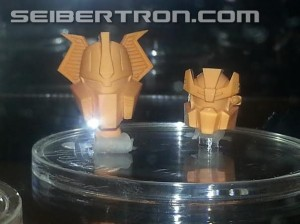 Transformers News: Transformers Collectors' Club Head Sculpts on Display at Joe Con 2014