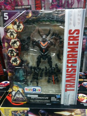 Transformers News: Transformers: The Last Knight Turbo Changers, Infernocus and Quintessa Found at Hong Kong Retail