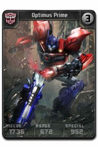 Transformers News: ngmoco Reveals Transformers Card Battler