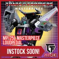 Transformers News: TFsource News! Masterpiece Loudpedal, Browning II, Spark Toy, Titans Return & More!