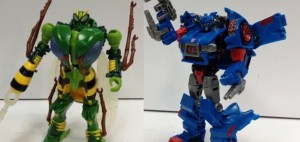 Transformers News: Transformers Generations Deluxe Waspinator and Skids Video Reviews