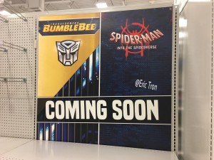 Poster for Transformers Bumblebee Movie Toys in Meijer - More Companies Picking up the Slack