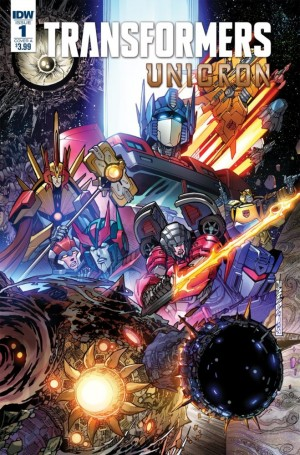 Preview for IDW Transformers: Unicron #1