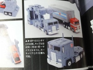 Transformers News: Takara Tomy Transformers Masterpiece MP-22 Ultra Magnus - Detachable Cab Images