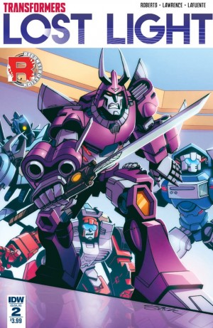 Full Preview of IDW Transformers: Lost Light #2