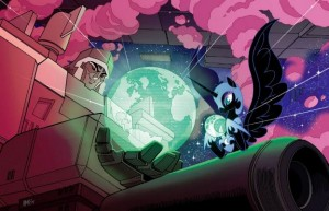 Nightmare Moon and Megatron Exclusive Lithograph Available at BotCon 2014