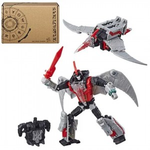 Transformers News: Packaging Revealed For Transformers Generations SELECTS Series Red Swoop