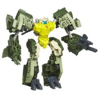 Transformers DOTM Cyberverse Commander Guzzle  and Flak Official Bios