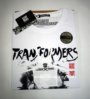 Transformers News: Transformers X STAYREAL Cybertron Con Exclusive Grimlock T-Shirt Pack