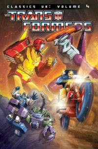 Transformers News: Transformers Classics UK Volume 4 Cover Revealed