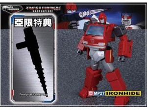 Transformers News: MP-27 Masterpiece Ironhide Reissue With New Drill Accessory