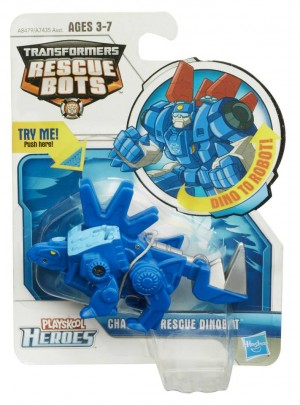 Official Images - Transformers: Rescue Dinos Chase and Boulder