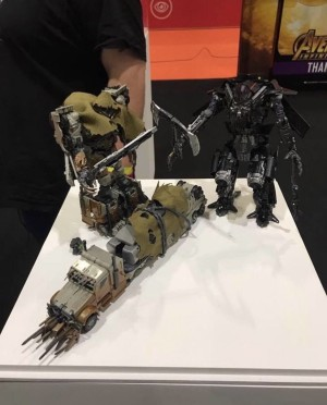 Studio Series Leader Class Dark of the Moon Megatron and Revenge of the Fallen Jetfire Revealed