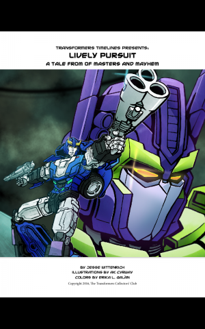 Transformers News: TFSS 5.0 'Foundation and Wreckage Part 2: Lively Pursuit' Prose Story Now Online
