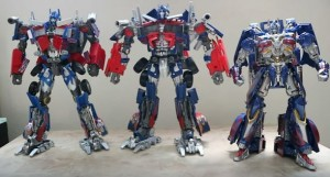 Transformers News: Videos of Movie Masterpiece MPM Optimus Prime with Transformation, Scale Comparison and Overview