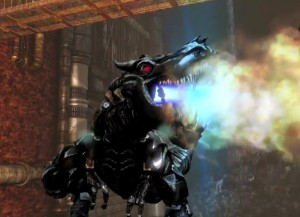 Transformers News: Transformers: Rise of the Dark Spark - Grimlock Clip