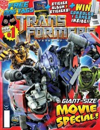 Transformers News: Simon Furman Blog Update- Revenge of the Fallen Comic