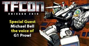 Transformers News: TFcon Toronto 2016 Guest Update - Michael Bell