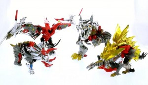 Video Review - SDCC 2014 Exclusive G1 Dinobots Set