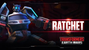 Transformers News: Transformers: Earth Wars Mobile Game Ratchet Spotlight Video