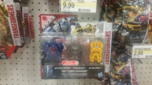 Transformers: The Last Knight Tiny Turbo Changers 3-pack sighted at retail
