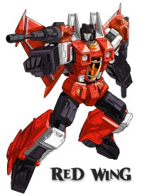 Fourth Seeker from Transformers Timelines Issue 8 - Machine Wars: Termination Comic Identity Revealed as Red Wing