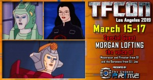 TFcon USA 2019 Guest Updates - Paul Eiding, Arthur Burghardt, Michael Horton, Morgan Lofting