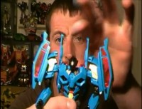Transformers News: Transformers Prime Revealers (Deluxe Class) Rumble Video Review
