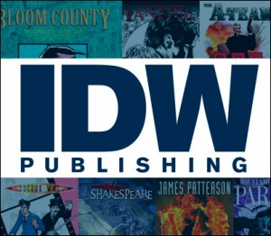 San Diego Comic Con 2016 - IDW & Top Shelf Schedule, Press Release