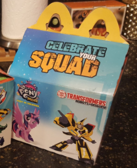New McDonalds Robots in Disguise Happy Meal Box Pics