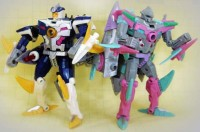 Transformers News: New Botcon Figures!  Sky-Byte and Gnaw / Sharkticon!