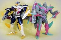 New Botcon Figures!  Sky-Byte and Gnaw / Sharkticon!