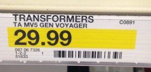 Transformers News: Target Now has Price Tags for Transformers: The Last Knight Toys