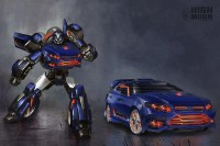 Transformers News: High Moon Studios and Ford Australia: Falcatron Revealed!
