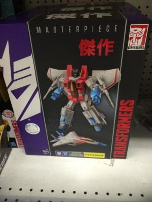 ToysRus Exclusive Hasbro Transformers Masterpiece Starscream MP 07 Found at US Retail UPDATE with Price