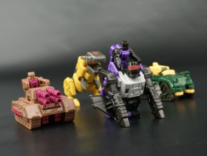 Transformers News: New Galleries: Transformers Titans Return Titanmasters; Apeface, Brawn, Skytread, and Clobber