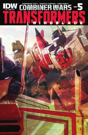IDW Transformers: Combiner Wars #5 - Windblade #3 Review